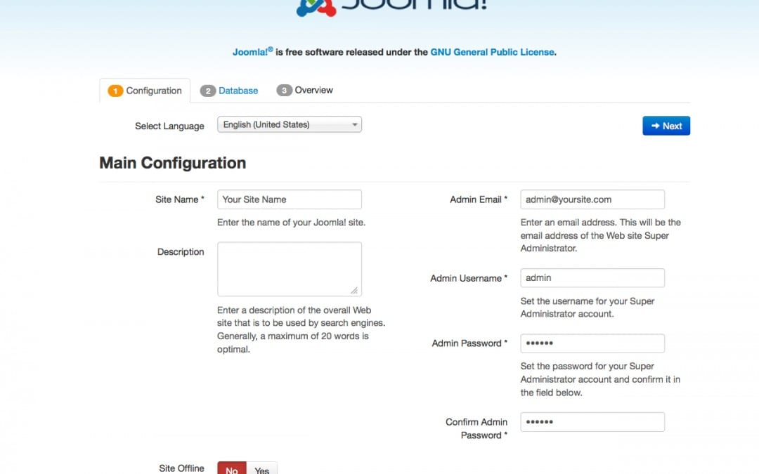 How to install Joomla! 3.x ?