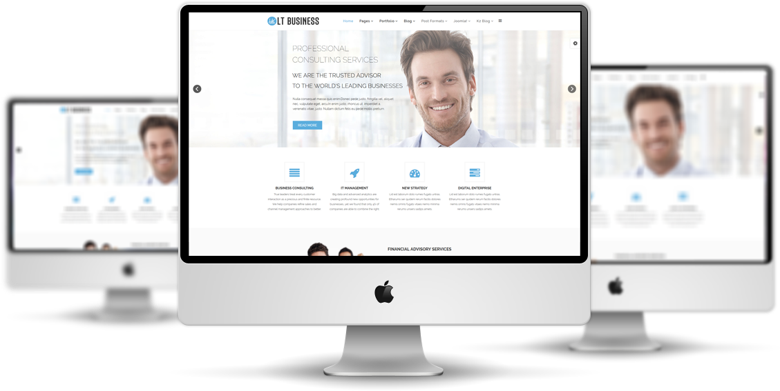 Lt business corporation business free joomla template lt business mockup flashek Gallery