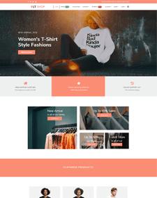 LT Shop – Free Online Store J2Store Joomla template