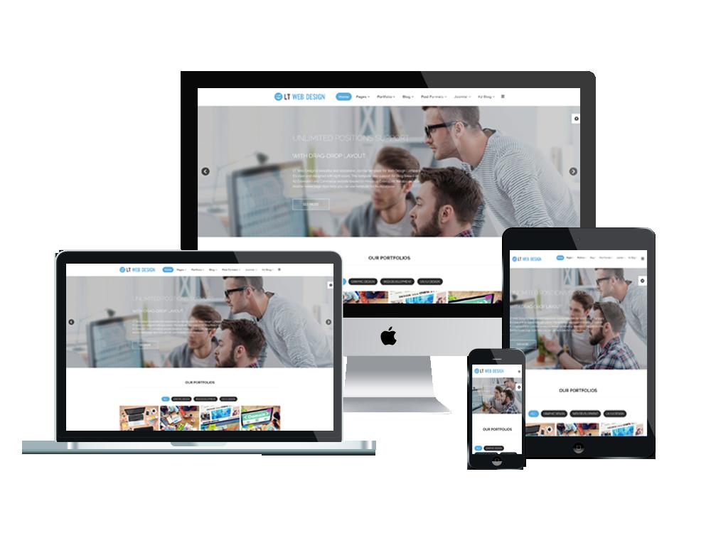 Et web design – free responsive web design joomla! Template freemium.