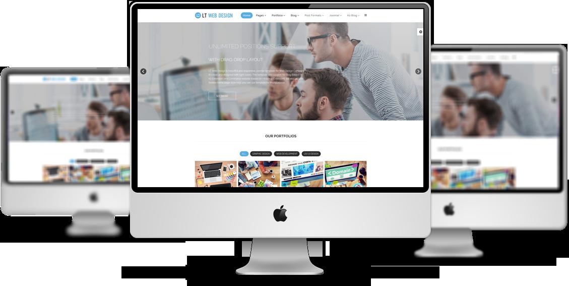 Souvent LT Web Design - Responsive Web Design Joomla template TR52