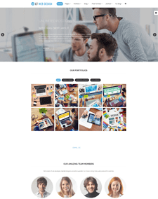 LT Web Design – Free Web Development / Web Design Joomla template