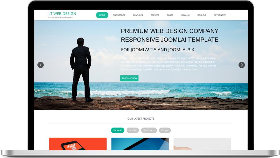 Joomla Web Free Onepage Web Design Joomla
