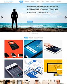 LT Web Design – Free Web Development / Web Design Joomla template