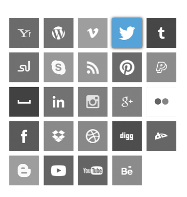 Social media icons with slide up and down animation using only CSS3