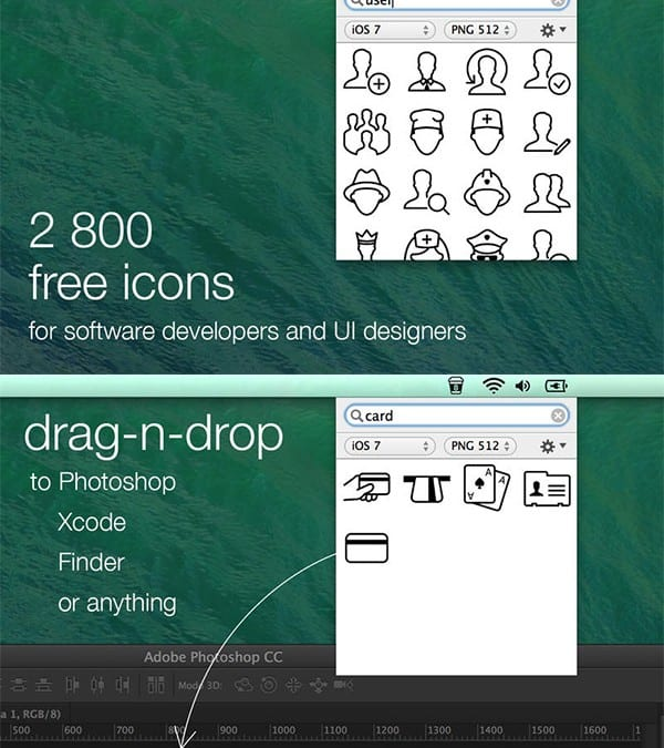 Icons Free App for Mac