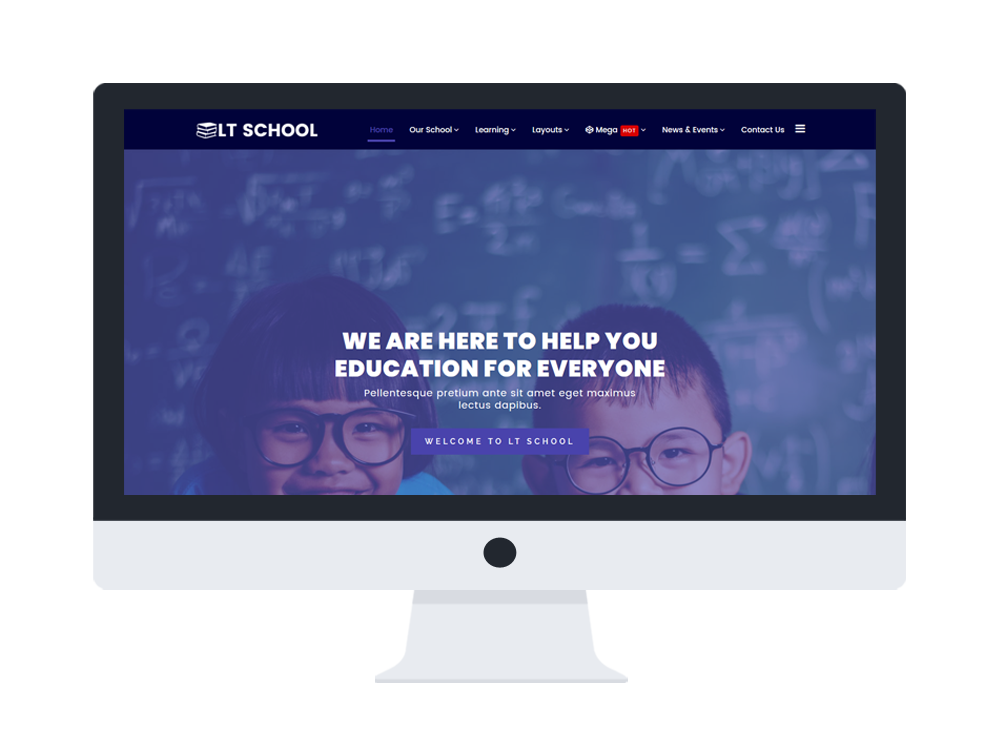 education based free joomla template
