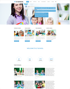 LT School - Free Responsive School Wordpress theme