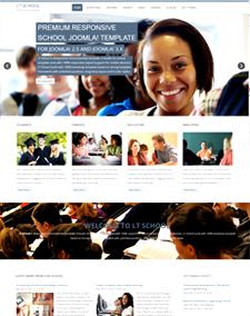 LT School – Free Education, University, School Joomla template
