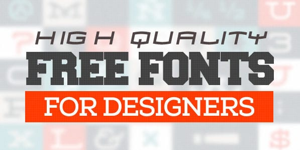 Super Fonts for Designers 2014