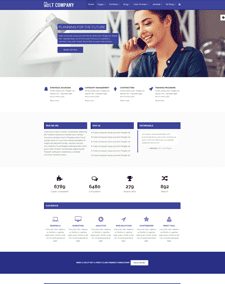 LT Company – Free Responsive Business / Company WordPress theme