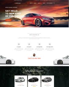 LT Salon Car – Free Auto Dealer Hikashop Joomla template