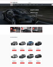 LT Salon Car – Free Auto Dealer Hikashop Joomla template