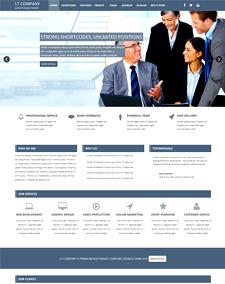 LT Company Onepage – Free Corporation / Company Onepage Joomla template