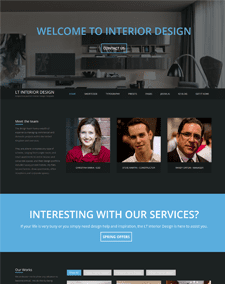 LT Interior Design – Free Responsive Furniture / Interior WordPress theme