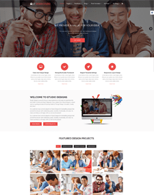 LT Design Studio – Free Creative, Design Studio Joomla template