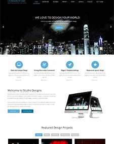 LT Design Studio Onepage – Free One Page Responsive Design Studio Joomla template