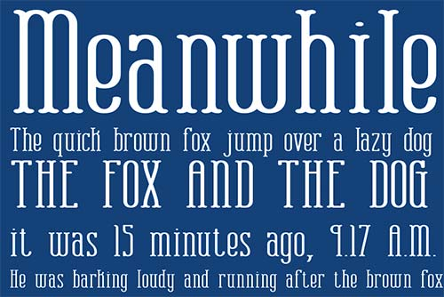 20 Free Hipster Fonts for Designers