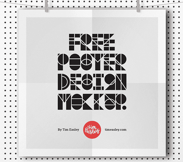 Poster Mockup PSD Template