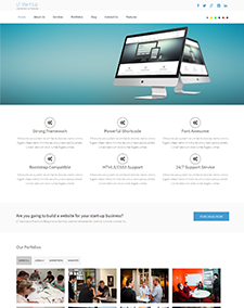 LT Start Up – Free One Page Responsive Business / Start Up Joomla template