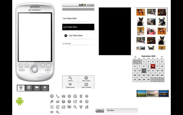 20 Free Web and Mobile Wireframe PSD Kits
