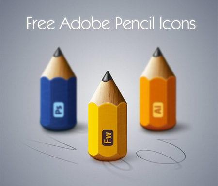 Free Adobe Pencil Icons