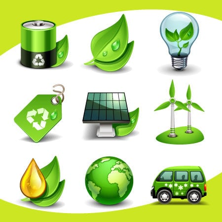 Ecological Vector Icons Free Download