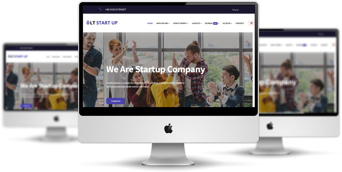 LT Start Up - Joomla Business template