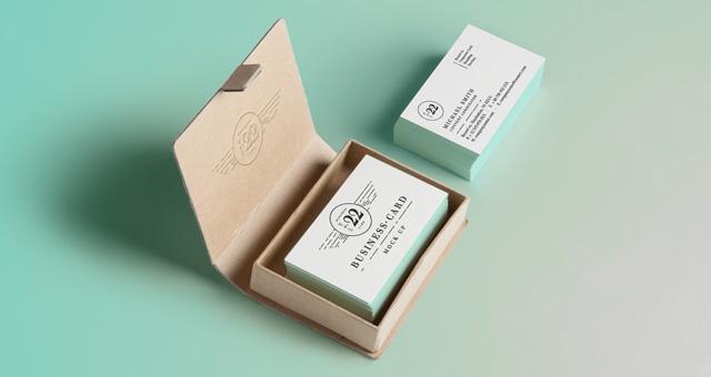 Psd Business Card Mock Up Responsive Joomla And Wordpress Themes