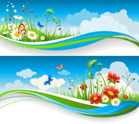 Free Peaceful Nature Vectors