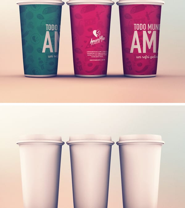 Cup PSD MockUp Template
