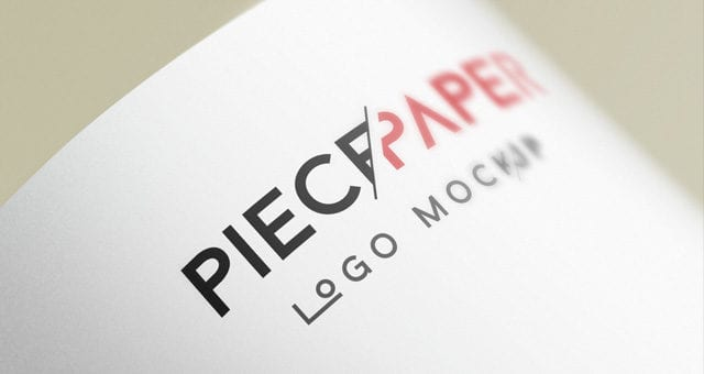 paper logo mock up template vol2 responsive joomla and wordpress