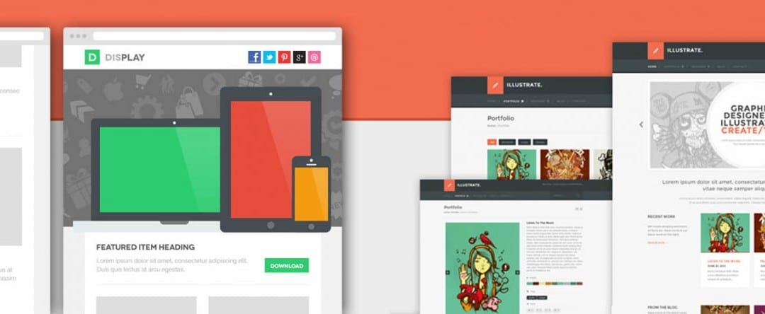 20 Pixel-Perfect Free PSD Website Templates with Amazing Designs