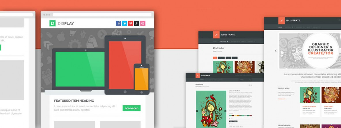 20 Pixel Perfect Free Psd Website Templates With Amazing Designs