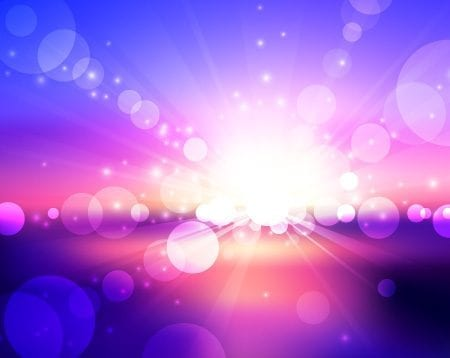 Free Abstract Vector Lens Flare