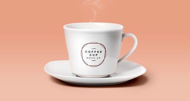 Psd Coffee Cup Mockup