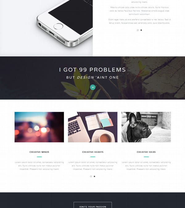 Halcyon Days: Free HTML Template