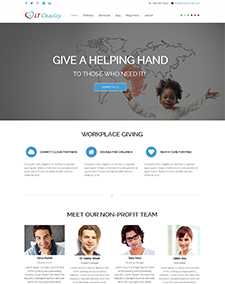LT Charity – Free Non-Profit, Charity Joomla template