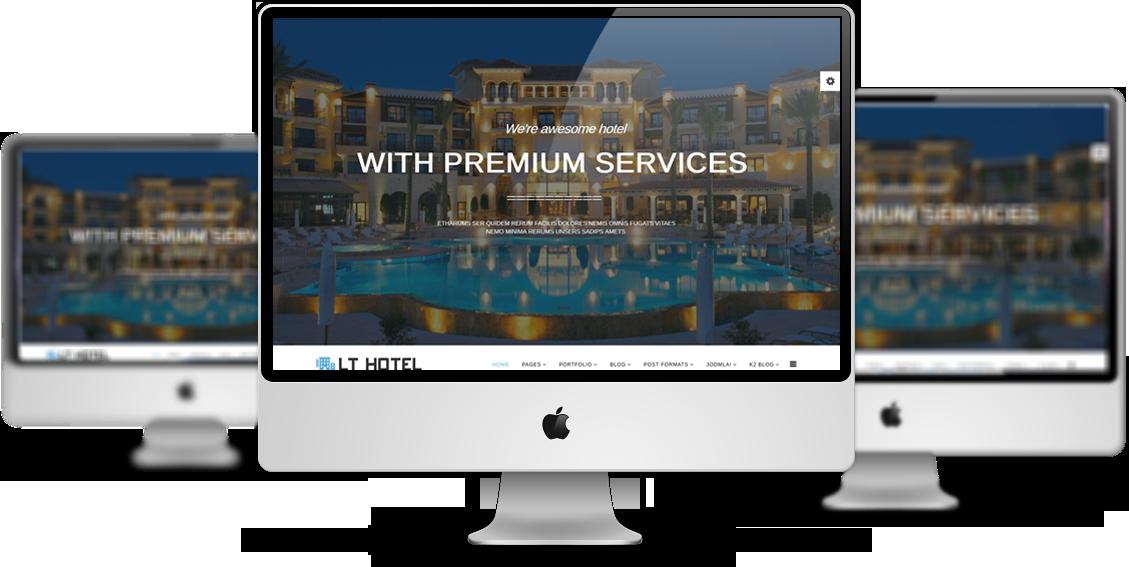 joomla hotel template - lt hotel responsive resort hotel joomla template