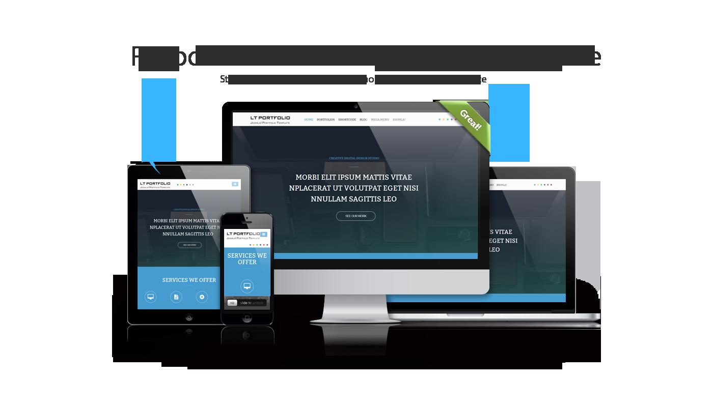 lt portfolio beautiful responsive portfolio joomla template. Black Bedroom Furniture Sets. Home Design Ideas