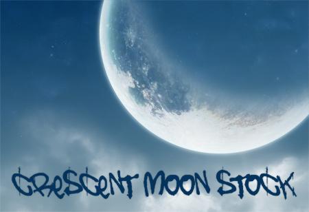Free Crescent Moon Photoshop PSD