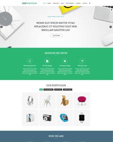 LT Portfolio Onepage – Free One Page Responsive Creative, Portfolio Joomla template
