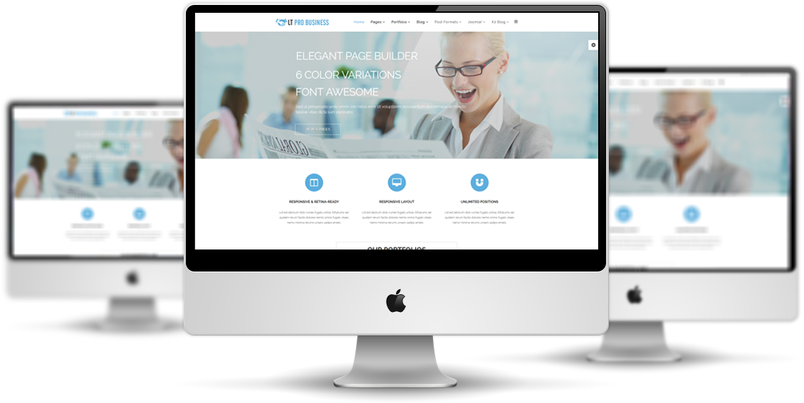 Lt pro business free joomla business template lt pro business mockup wajeb Gallery