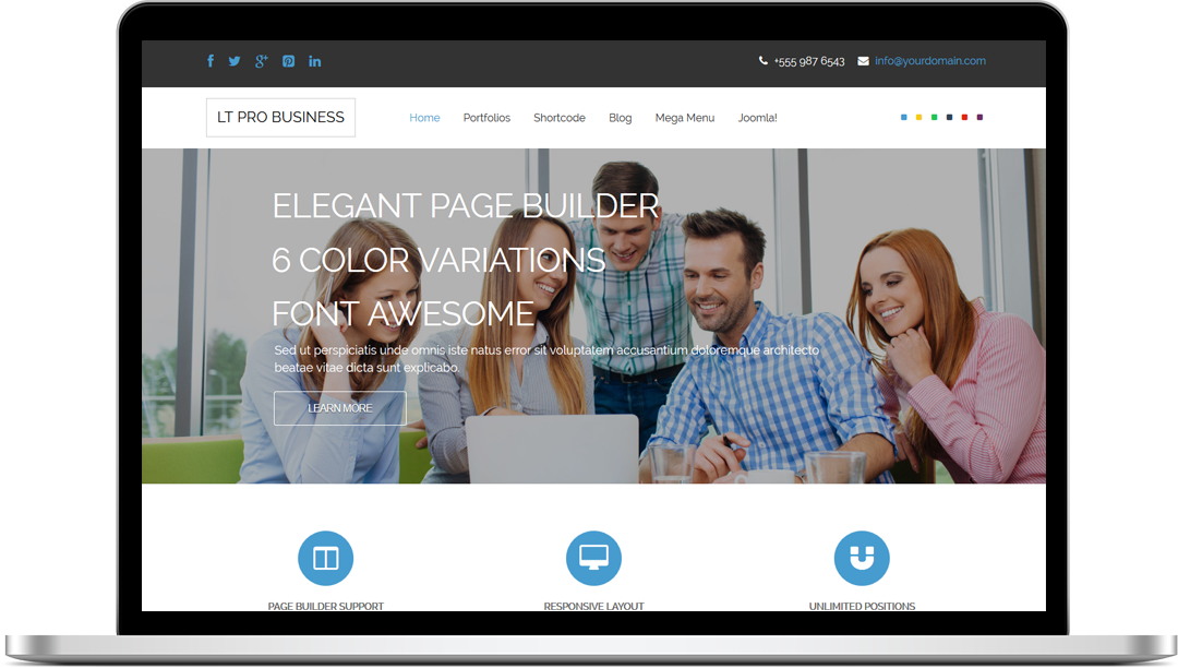 Premademacbook lt pro business responsive joomla and wordpress themes premademacbook lt pro business wajeb Image collections