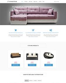 LT Interior Store – Free Architecture, Interior Store Joomla template based on Hikashop