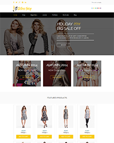 LT Clothes Shop – Free Responsive Online Shopping Cart / Clothes Shop WordPress theme