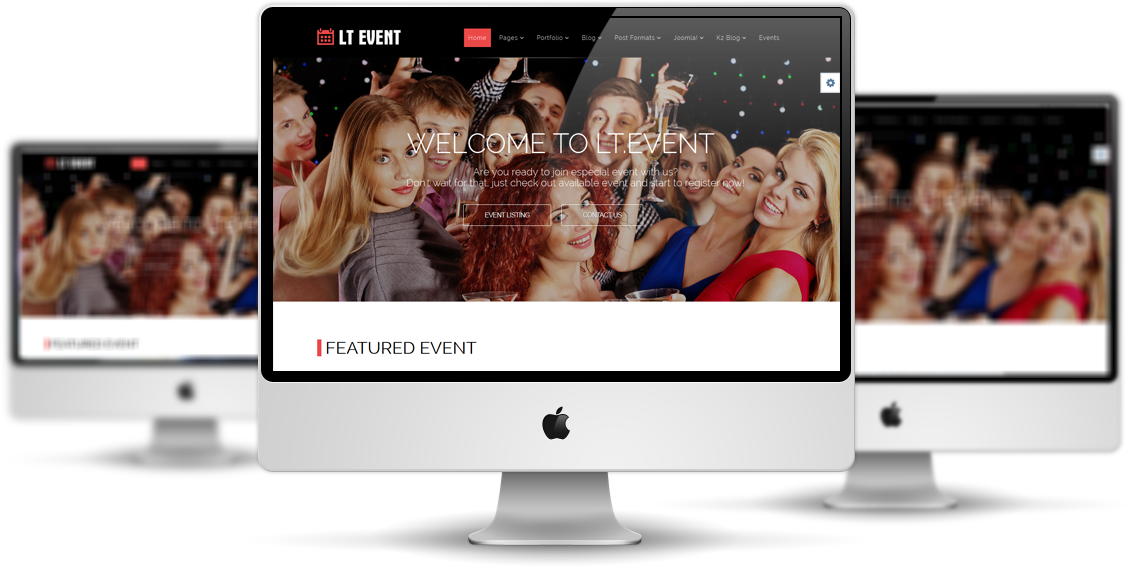 LT Event Joomla! template