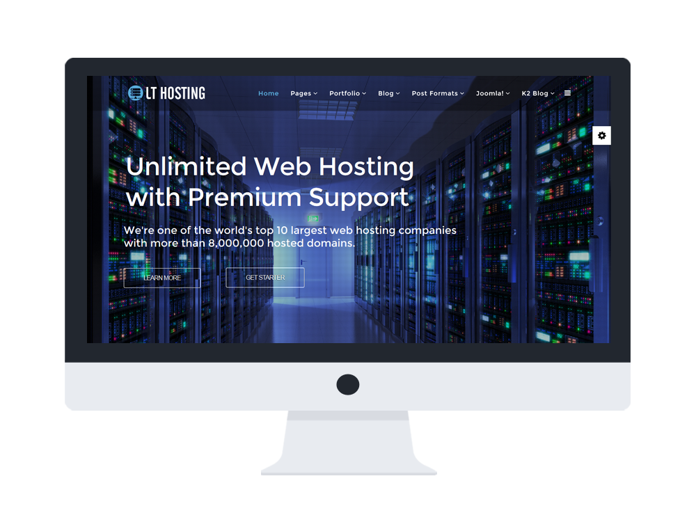 LT Hosting - Free Hosting Provider/ Hosting Joomla template