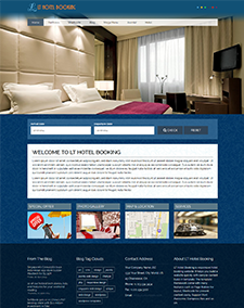 LT Hotel Booking – Free Hotel Booking Joomla template