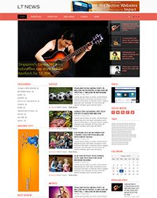 LT News – Responsive Magazine / News Joomla template